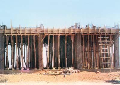 اعمال انشاء القرية العصرية