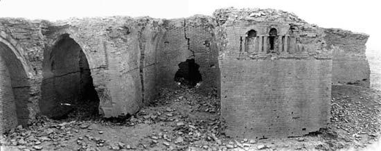 خان العطشان عام 1911 م بعدسة المس بيل
