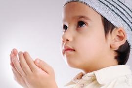 معنى التدين في رأي الطفل :