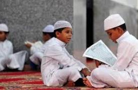 الطفل والمحافل الدينية :